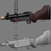 3ds max rocket launcher