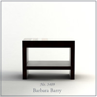 3d model barbara barry