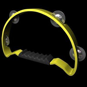 tambourine 3d max