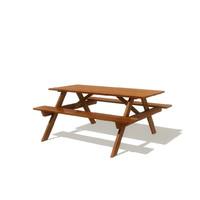 picnic bench obj