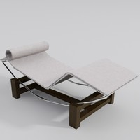 3ds max chaise lounge