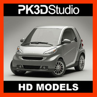 smart fortwo coupe 3d max
