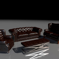max classic soft furniture set