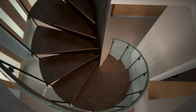 spiral staircase max