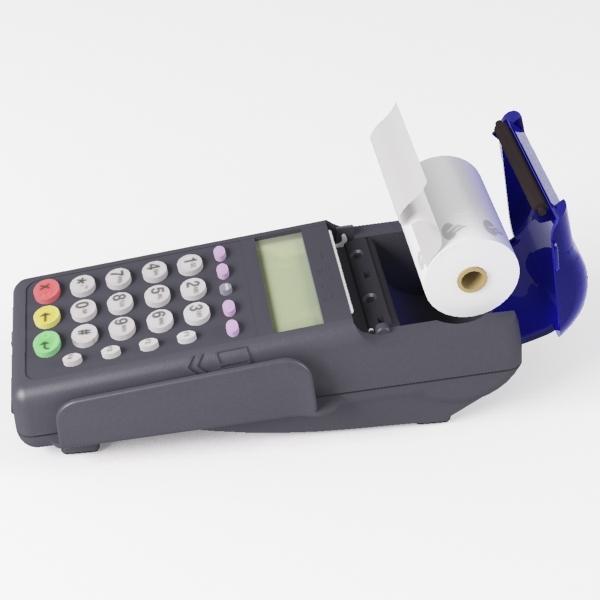 3d model credit card reader