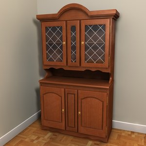 sideboard cupboard 3d 3ds