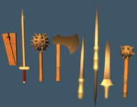 3d x weapons pack