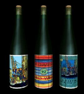 vrml trio wine bottles