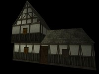 medieval house x