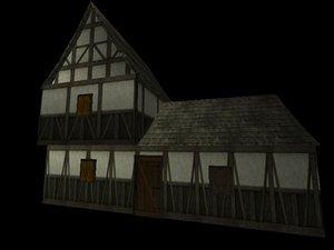 medieval house x