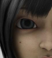3d maemi mangga character model