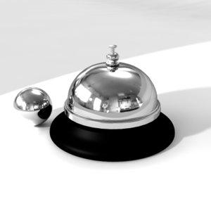 service bell 3d model