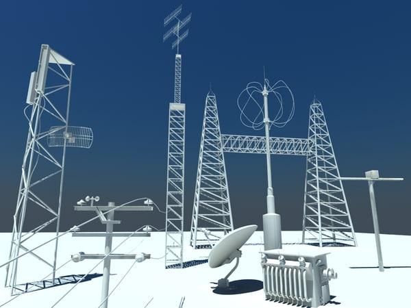 3d communication antennae
