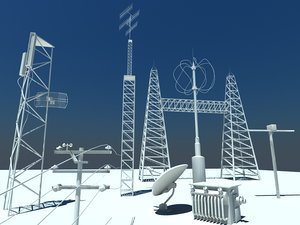 3d communication antennae