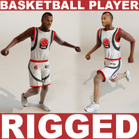 Basketball player (RIGGED)