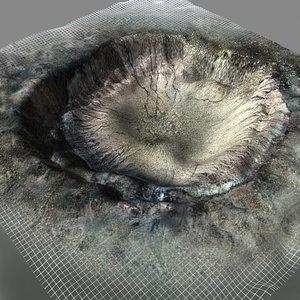 meteor crater lwo