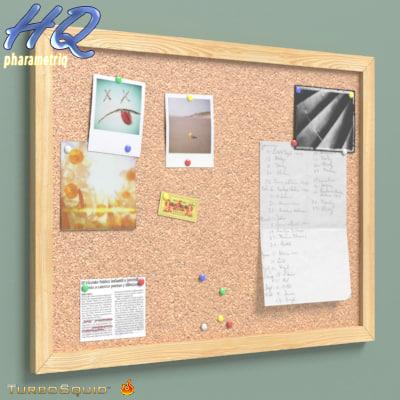 3ds max corkboard 00