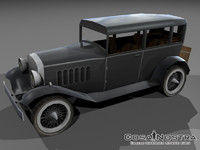 3d cunningham 1929 car