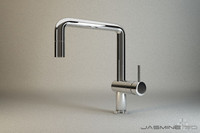 3d faucet chrome model