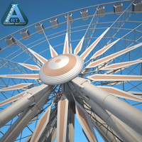 niagara sky wheel 3d dxf