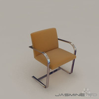 3ds max bruno chair