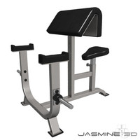 gym equipment biceps bench max