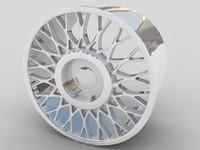 3ds max alloy car wheel