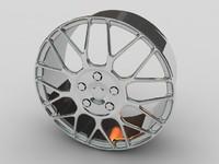 3d car alloy wheel model
