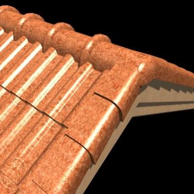 3ds roof tile