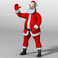 santaclaus santa claus 3d max