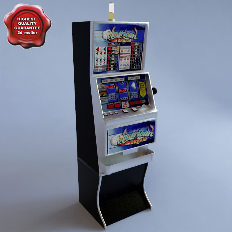 3d slot machin american dream model