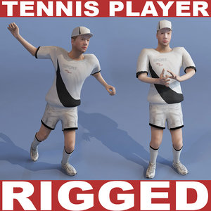 tennis player 3ds
