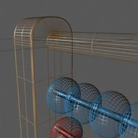 3d model of abacus