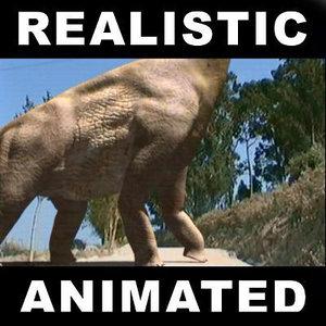 brachiosaur jurassic park 3d model