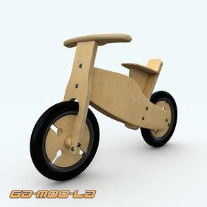 childrens bike 3d model