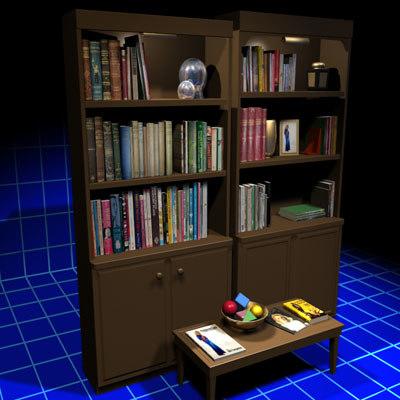 3d model book props 01