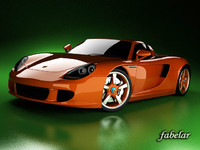 carrera gt 3d model