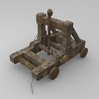max low-poly catapult torsion