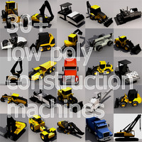 3ds construction machines