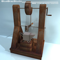 c4d leonardo automatic hammer machine