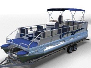 maya pontoon boat