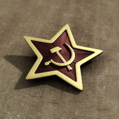 soviet badge c4d