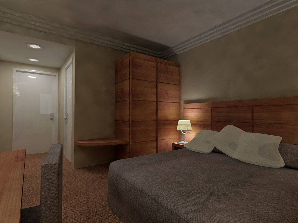 interior hotel room max