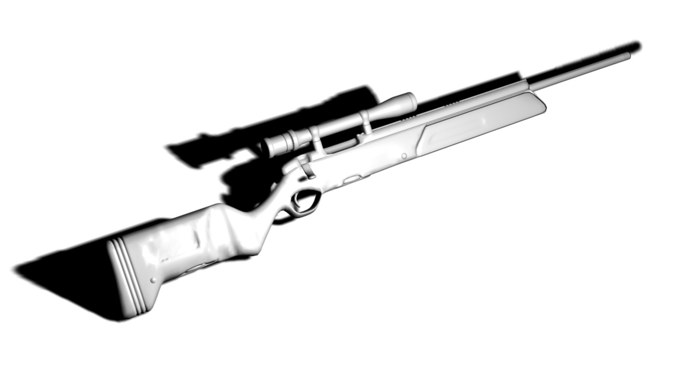 steyr scout 3d dxf
