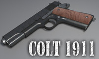 Highly detailed Colt 1911