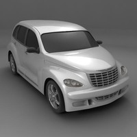 chrysler pt crussier 3d max