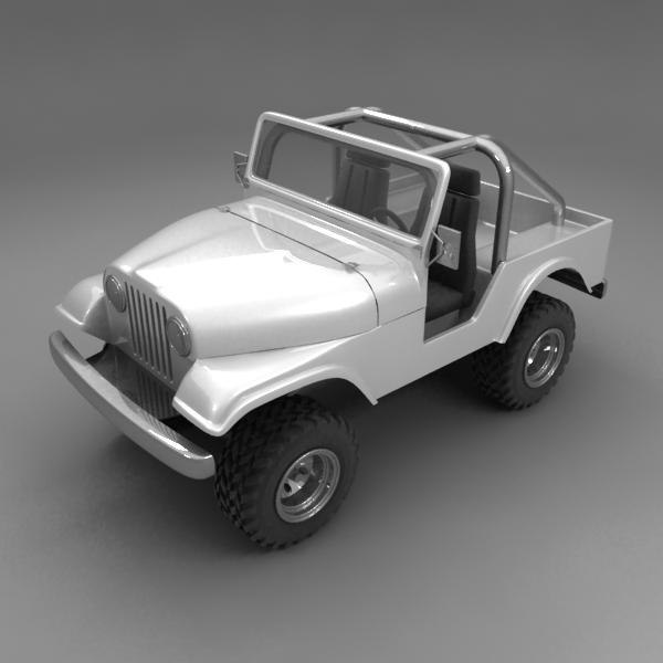 jeep buggy 3d 3ds