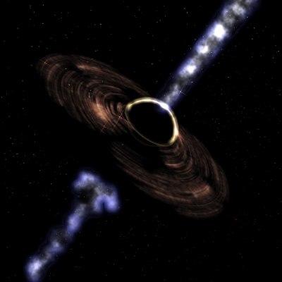 3d black hole model