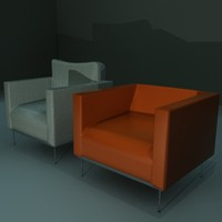3d 3ds soft chairs