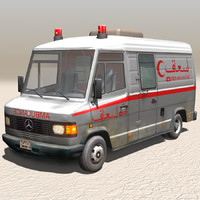 Arab street element AMBULANCE